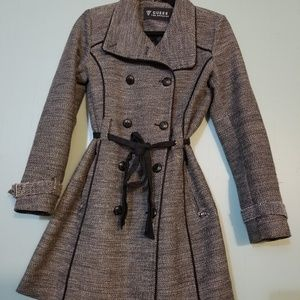 Grey Guess coat (long)